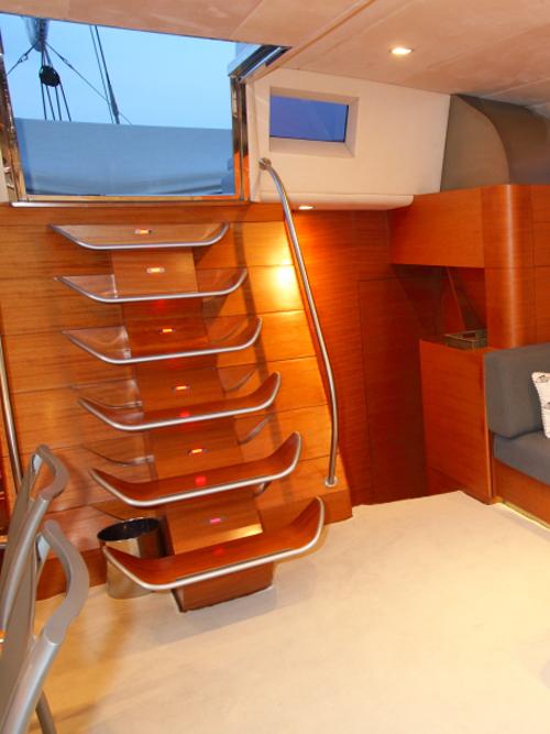 Sailing Yacht ATTIMO - Companionway