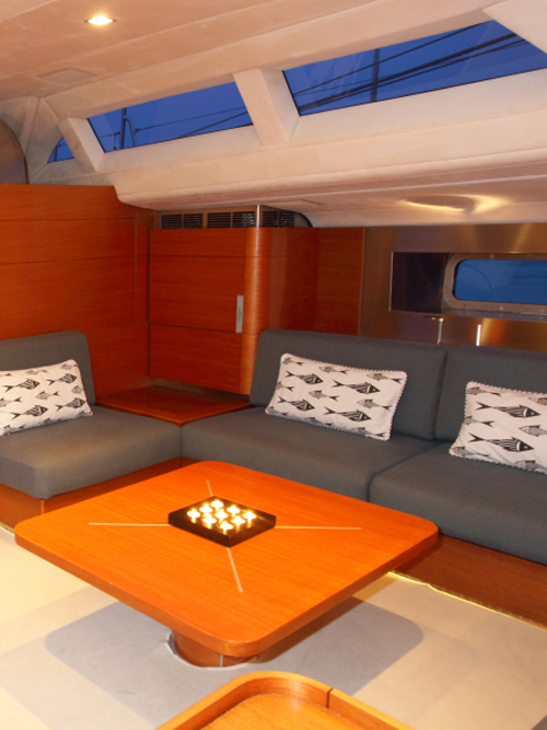 Sailing Yacht ATTIMO - Salon