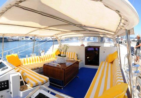 Sailing Yacht Billy Budd 2 -  Cockpit 2