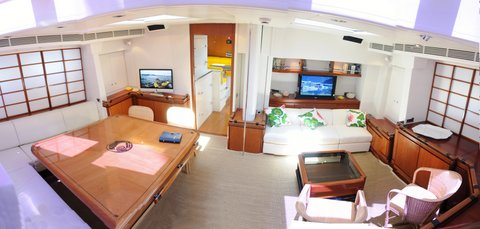 Sailing Yacht Billy Budd 2 -  Salon