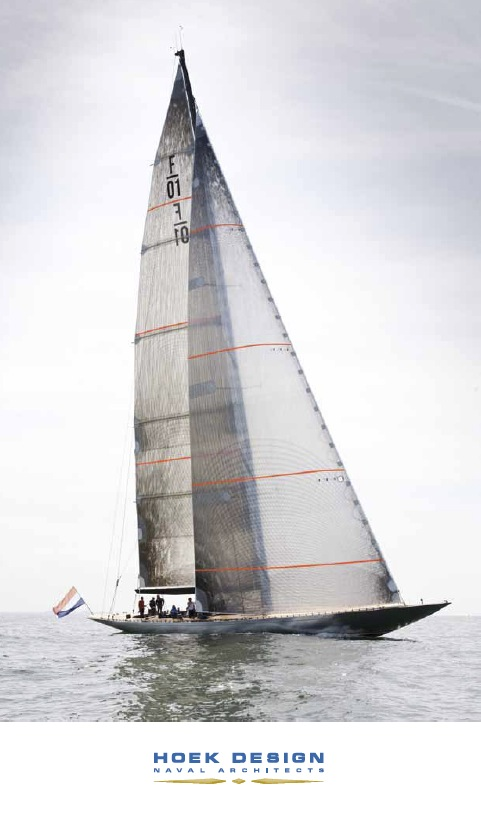 Sailing Yacht Firefly by Hoek Design and Claasen Jachtbouw - Image courtesy of Hoek Design