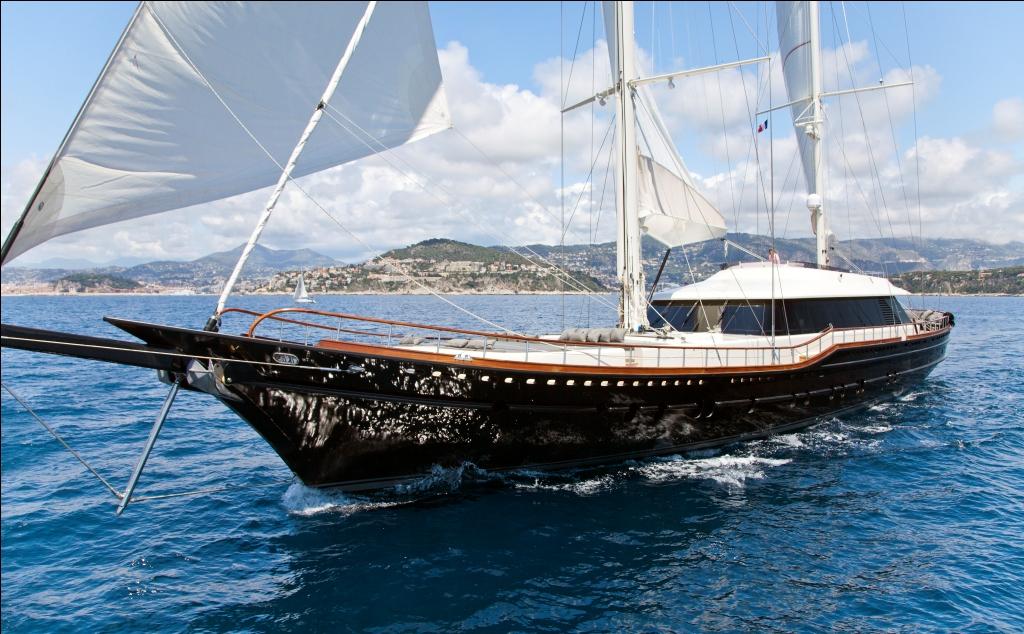 Sailing Yacht Infinity -  Cruising