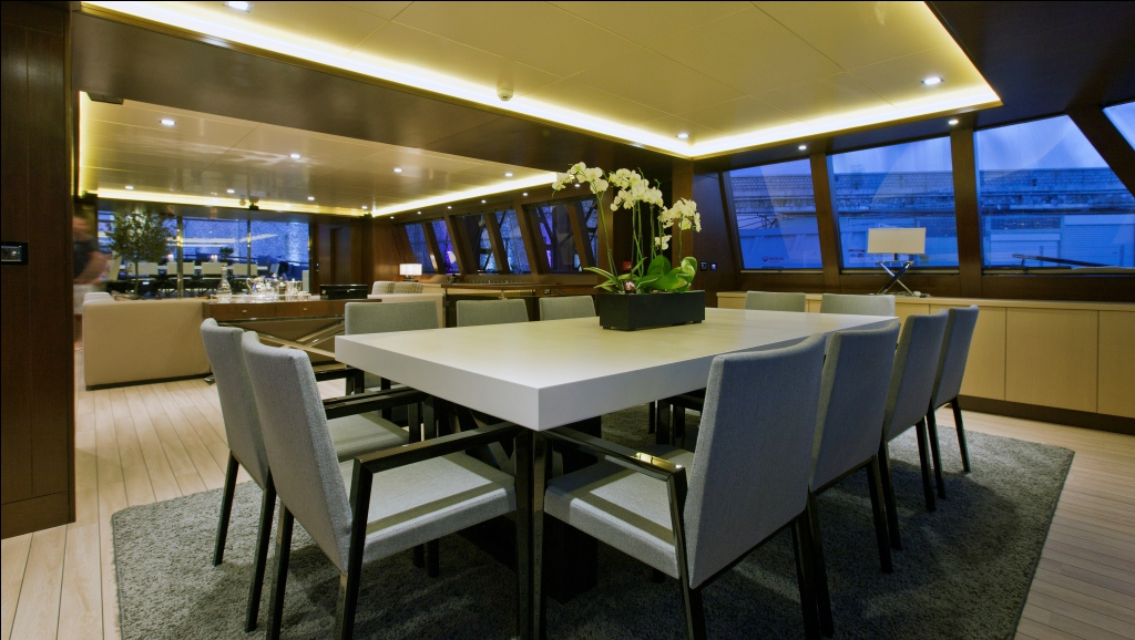 Sailing Yacht Infinity -  Dining