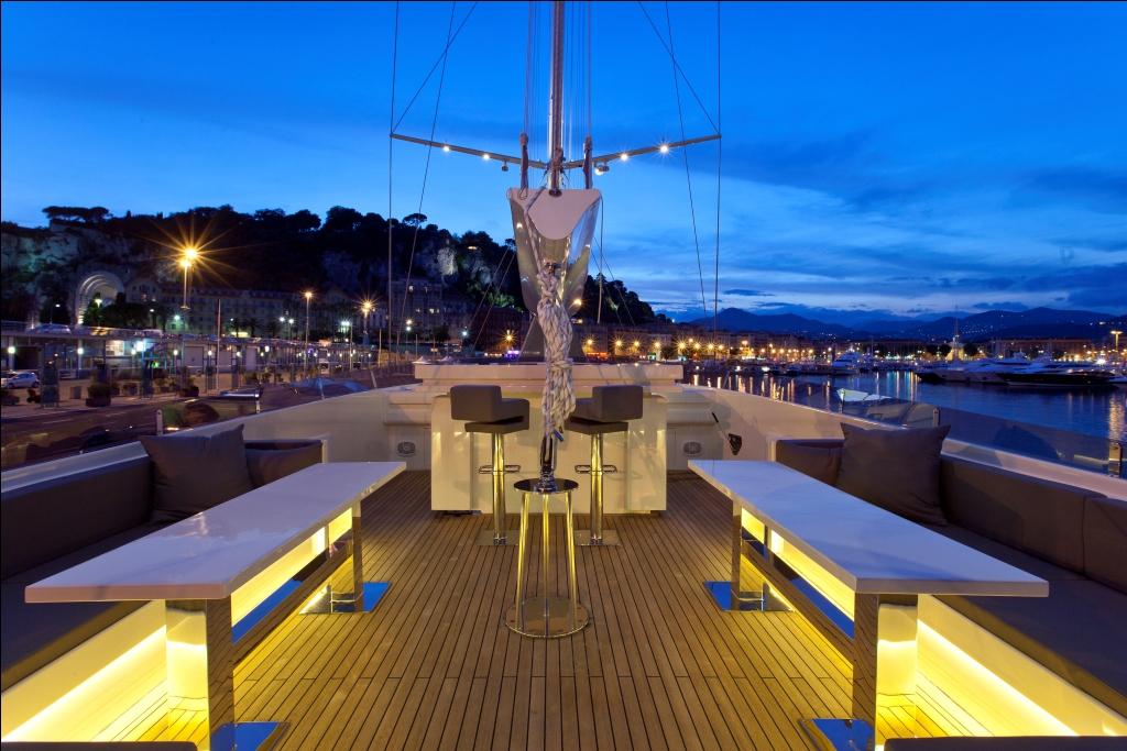 Sailing Yacht Infinity -  Flybridge