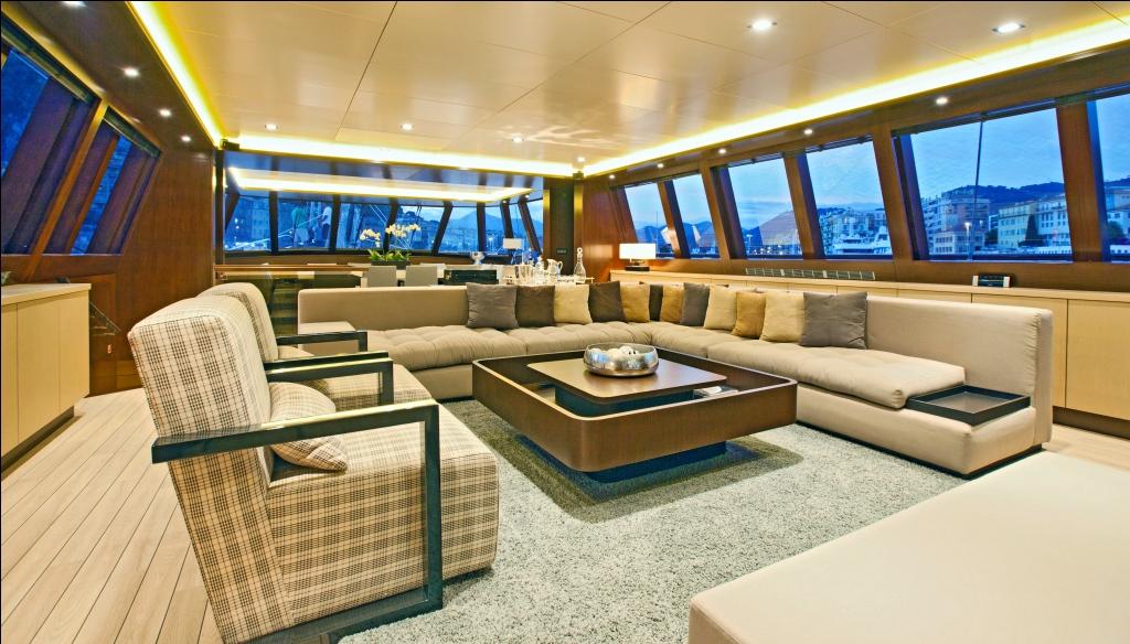 Sailing Yacht Infinity -  Main Salon