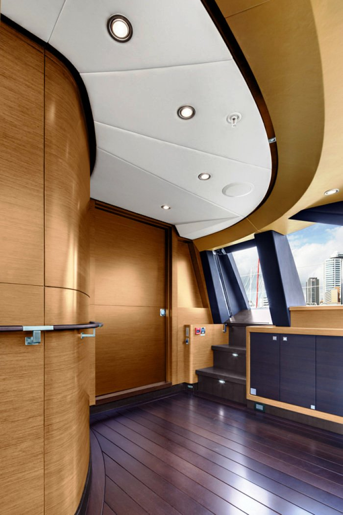 Sailing Yacht Kokomo III - The Bridge Side Door