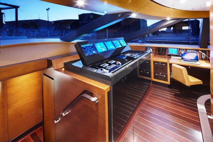 Sailing Yacht Kokomo III - The Bridge