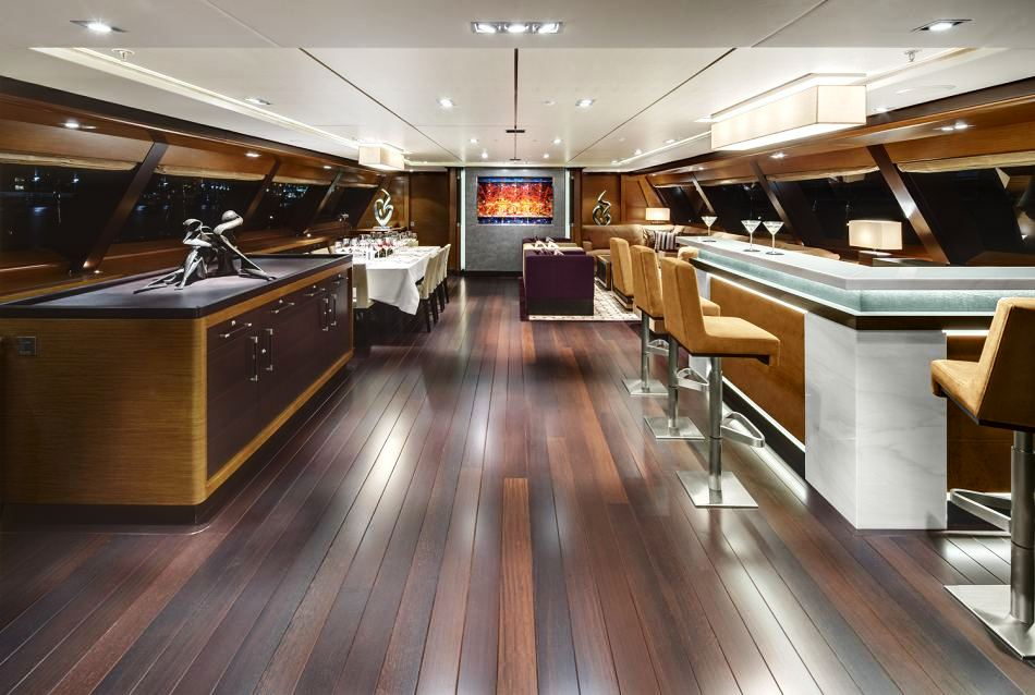 Sailing Yacht Kokomo III - The Deck Saloon