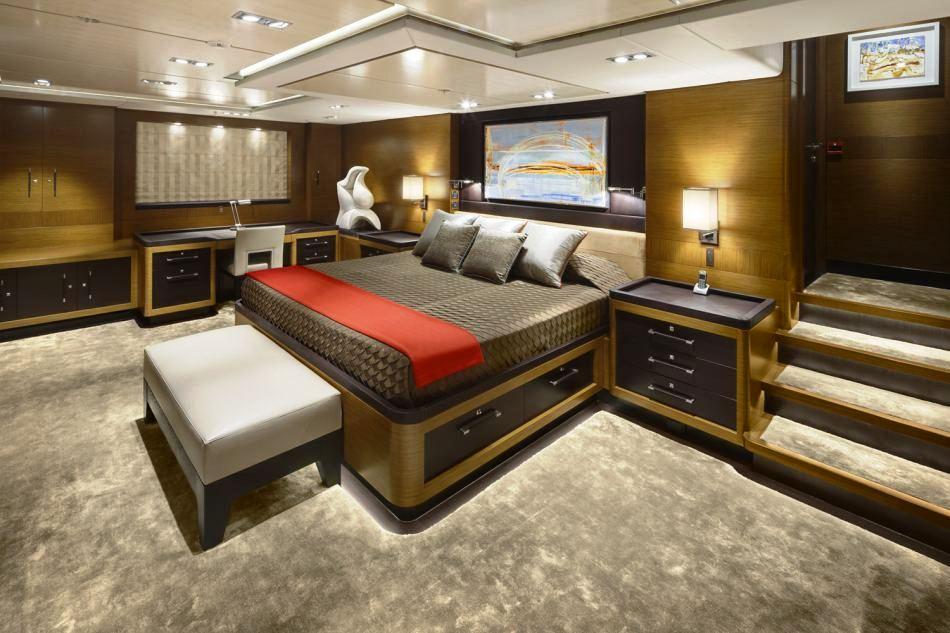 Sailing Yacht Kokomo III - The Master Stateroom