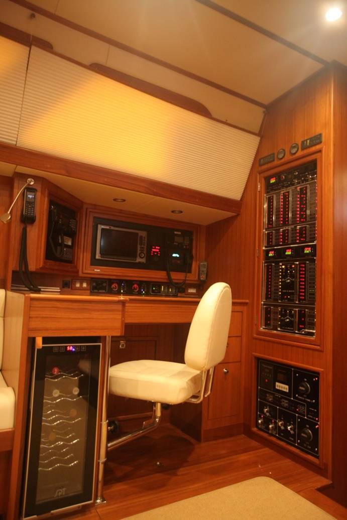 Sailing Yacht Magnetic Sky - Navigation Station
