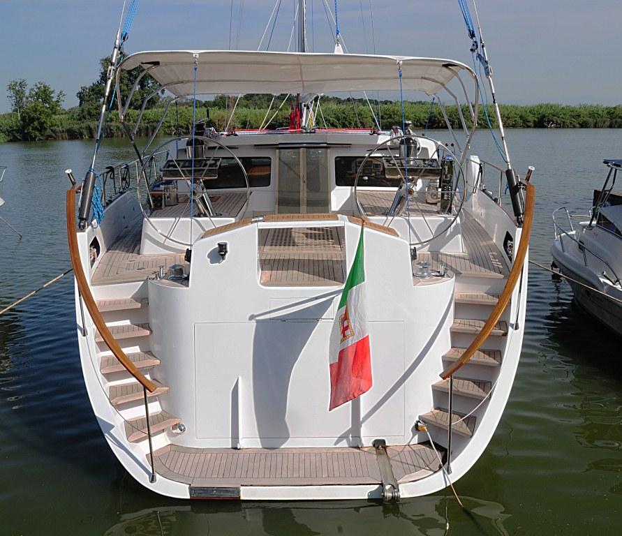 Sailing Yacht Myosotis -  Aft