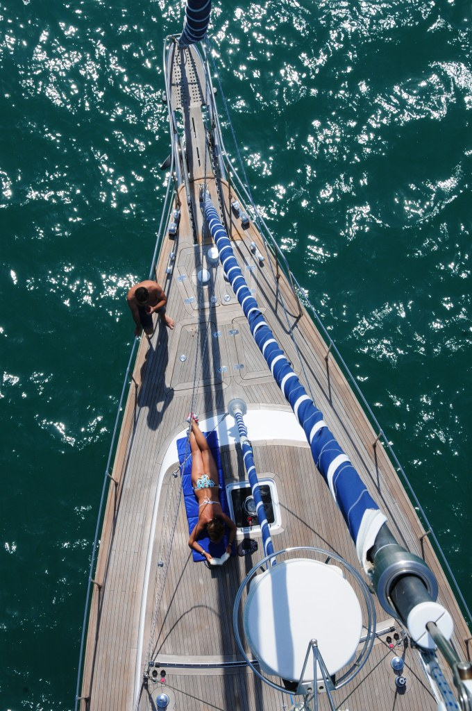 Sailing Yacht Myosotis -  From Above