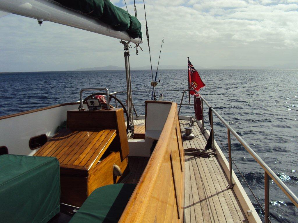 Sailing Yacht TAU -  Cockpit and Deck