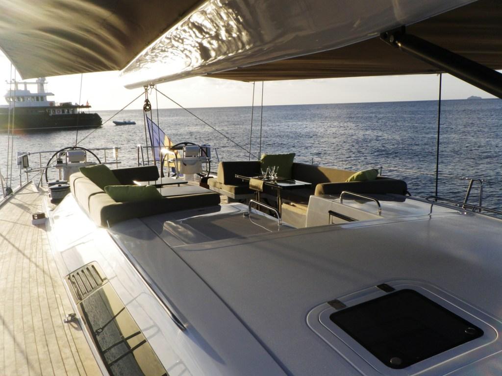 Sailing yacht ALIX Deck 2