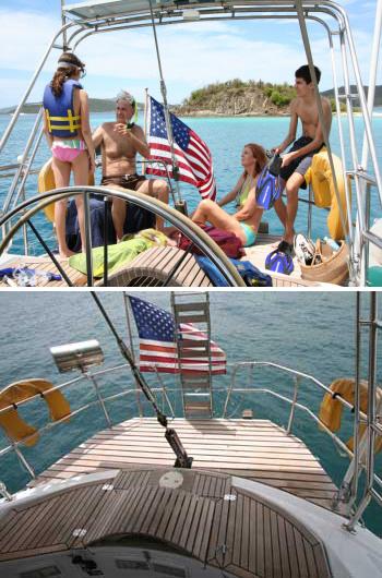 Sailing yacht ANAHITA - Fun on Charter