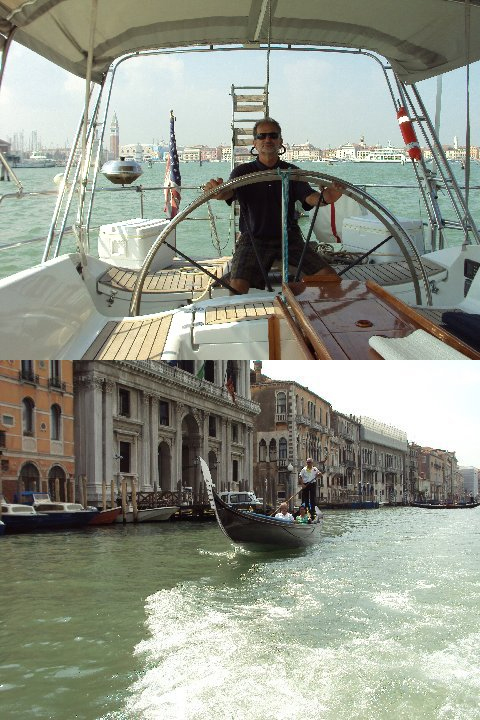 Sailing yacht ANAHITA - In Venice