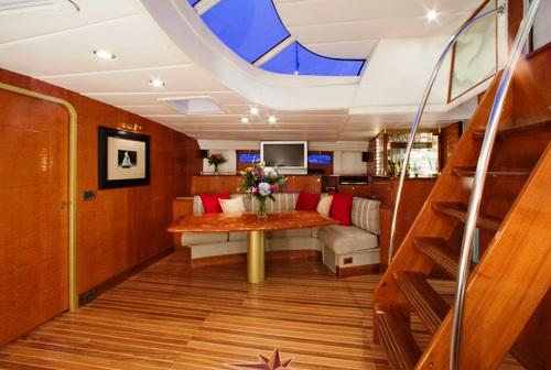 Sailing yacht APACHE -  Dining