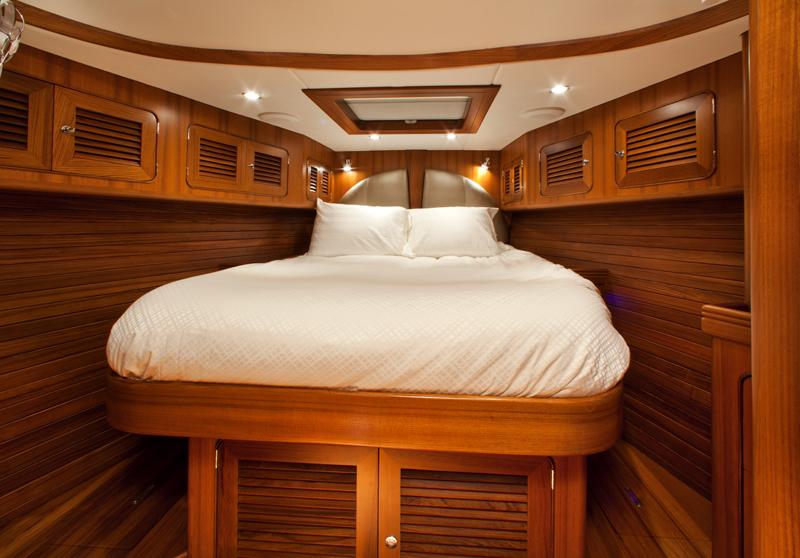 Sailing yacht Archangel -  Forward Guest Cabin