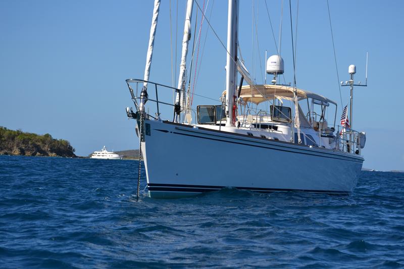 Sailing yacht Archangel -  Forward View