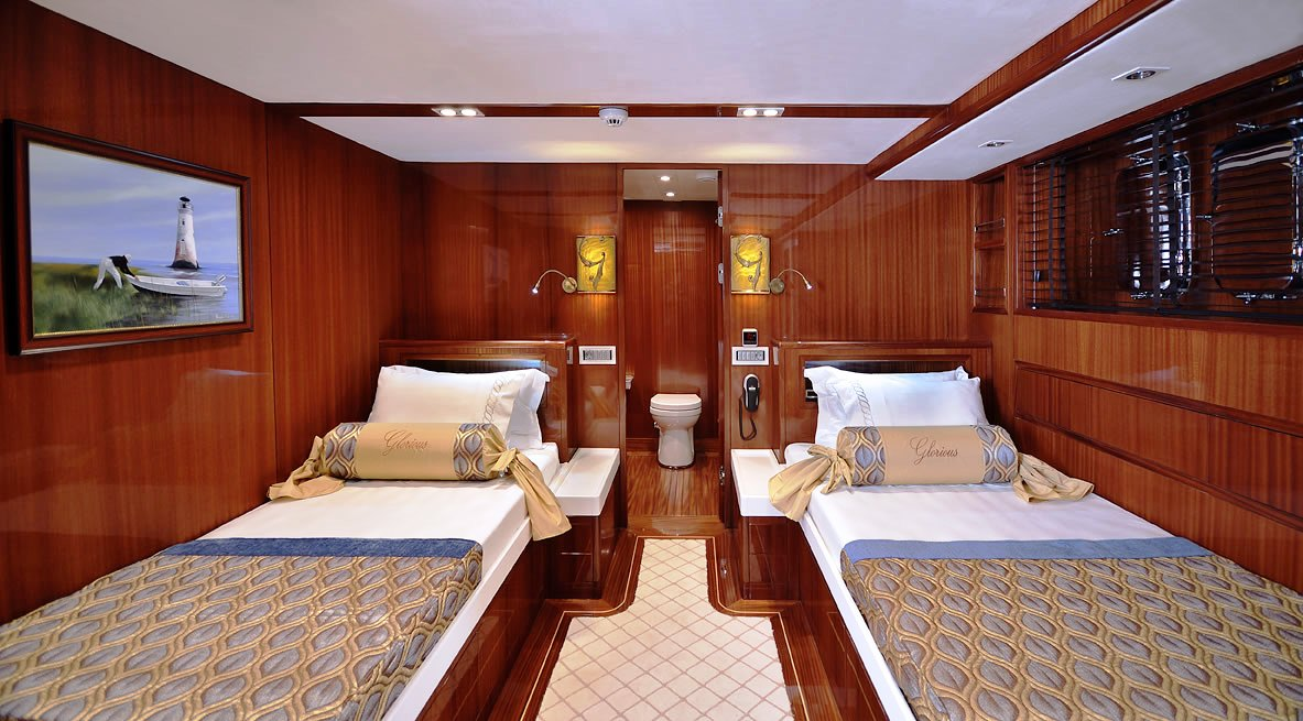 Sailing yacht GLORIOUS -  Twin Cabin 2
