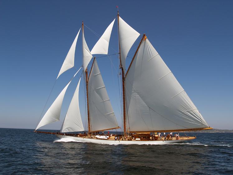 Sailing yacht Germania Nova -  Underway