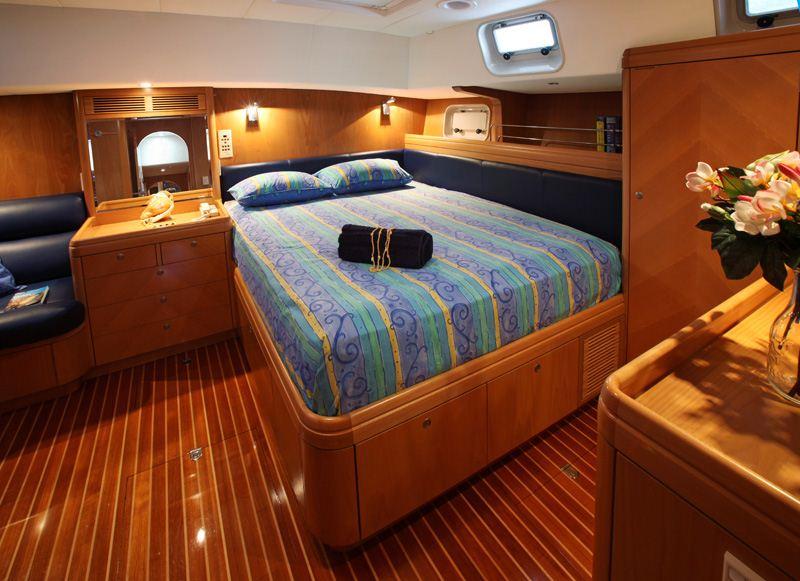 Sailing yacht KE AMA II - Master Cabin