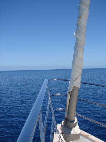 Sailing yacht KE-AMA II -  Bow