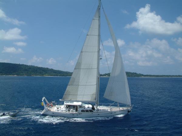 Sailing yacht KE-AMA II -  Main