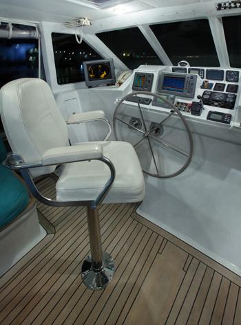 Sailing yacht KE-AMA II -  Wheelhouse