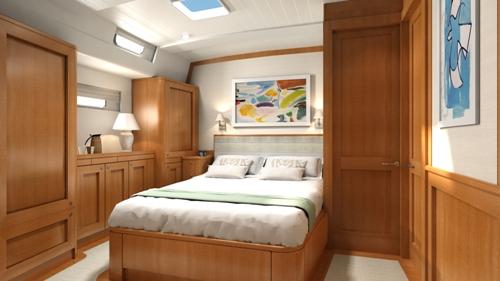 Sailing yacht KESTREL -  Double Cabin