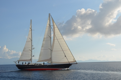 Sailing yacht KESTREL -  Profile