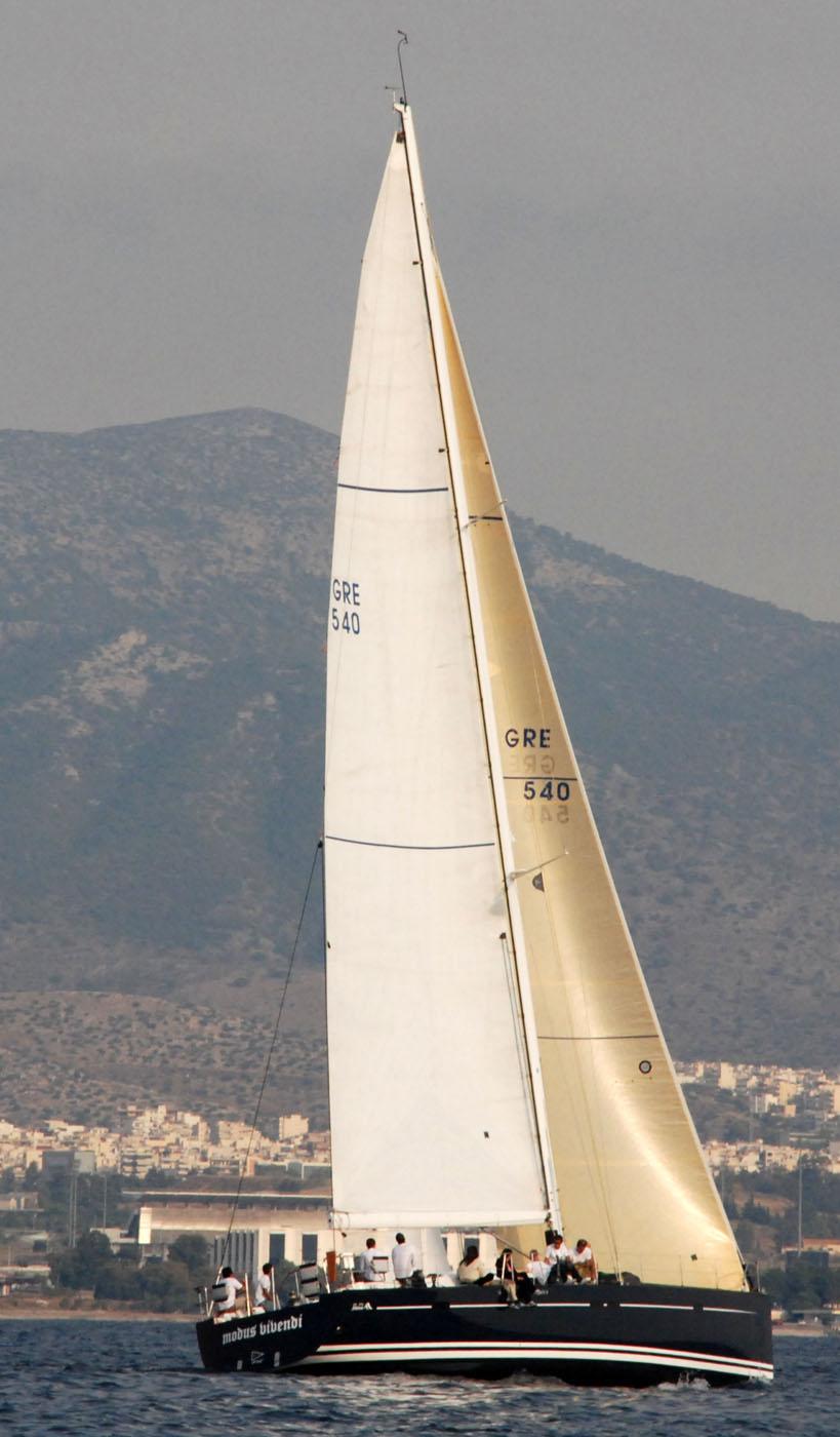 Sailing yacht MODUS VIVENDI -  Cruising 2