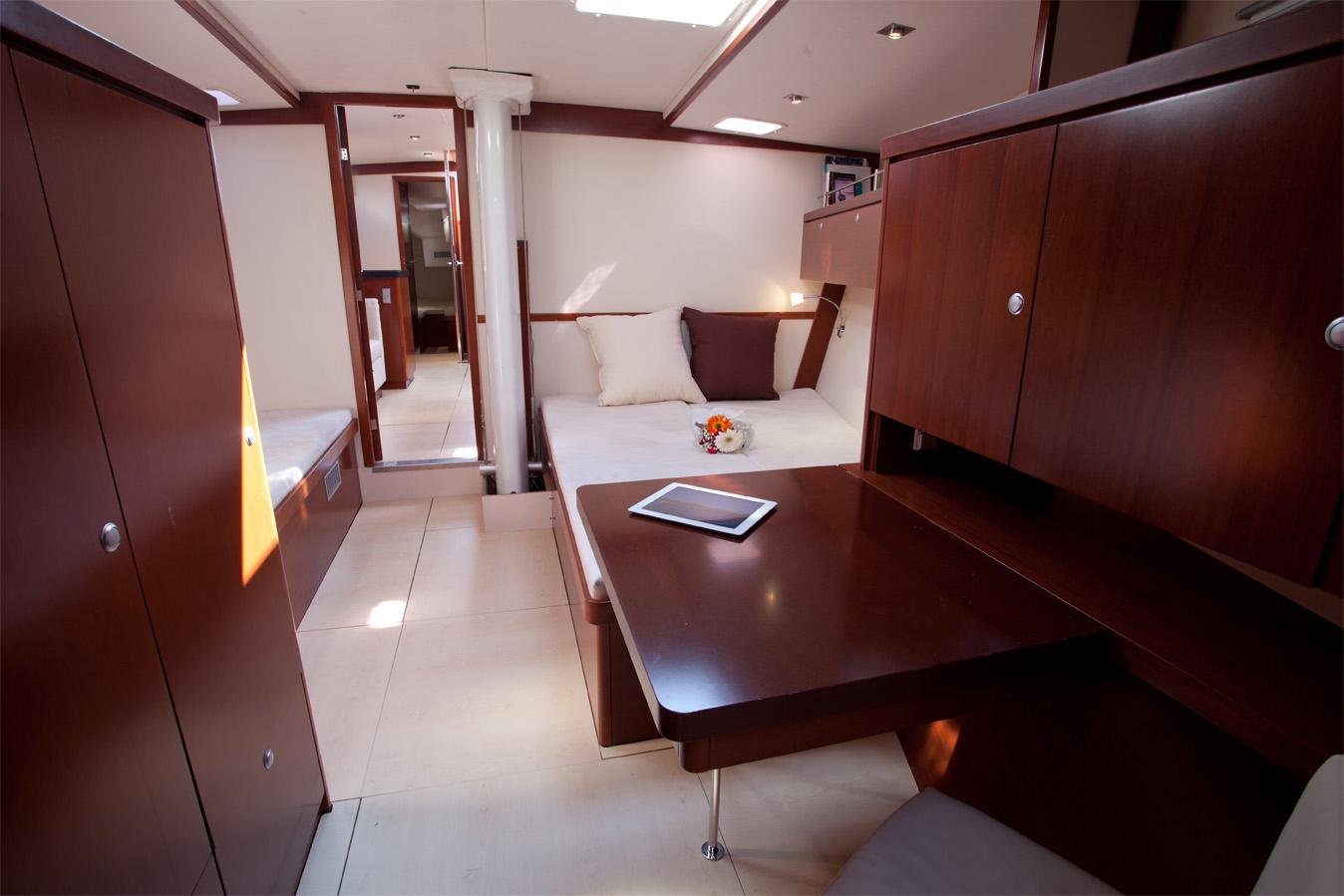 Sailing yacht MODUS VIVENDI -  Master Cabin 2