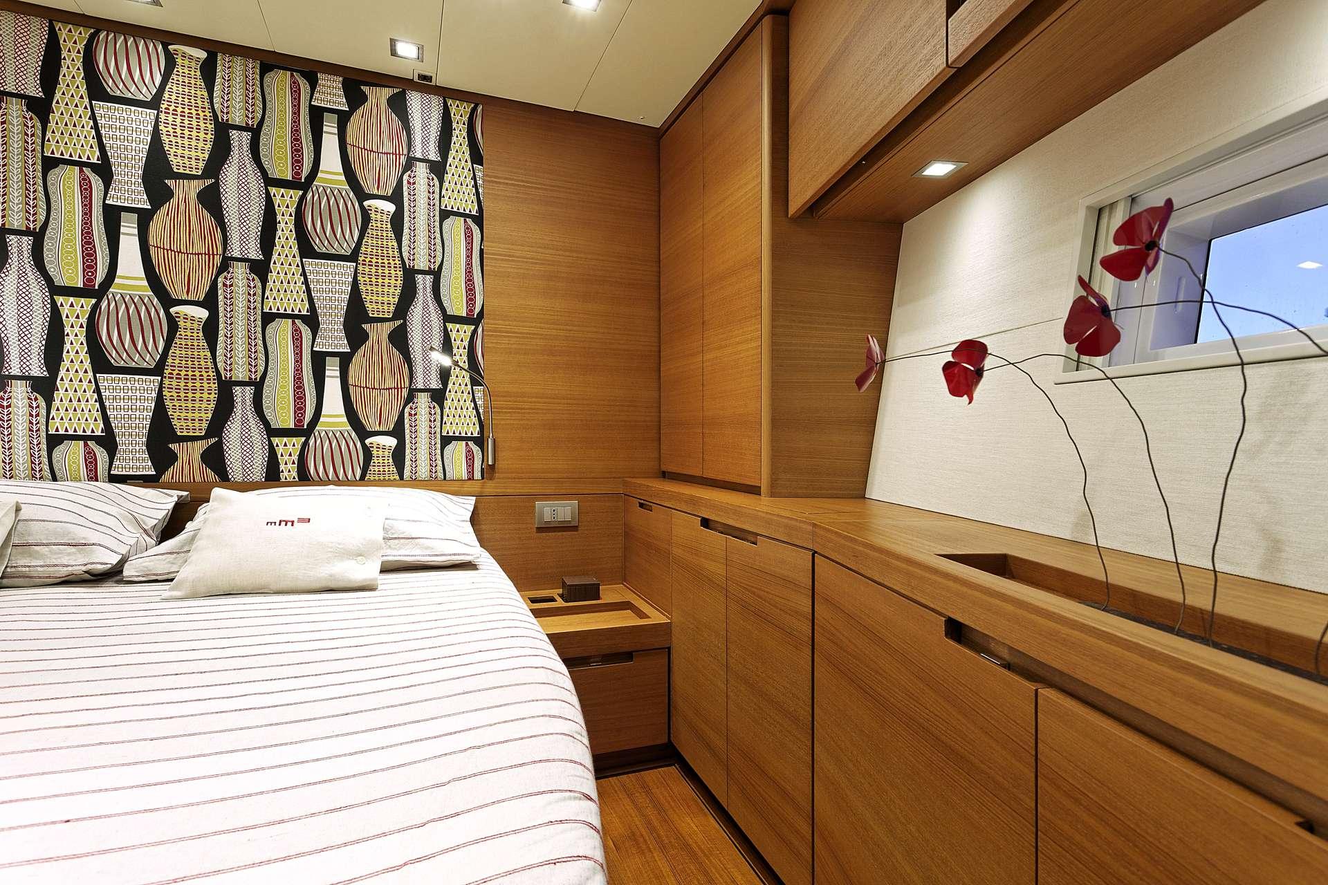 Sailing yacht MRS MARIETTA CUBE - Cabin 2