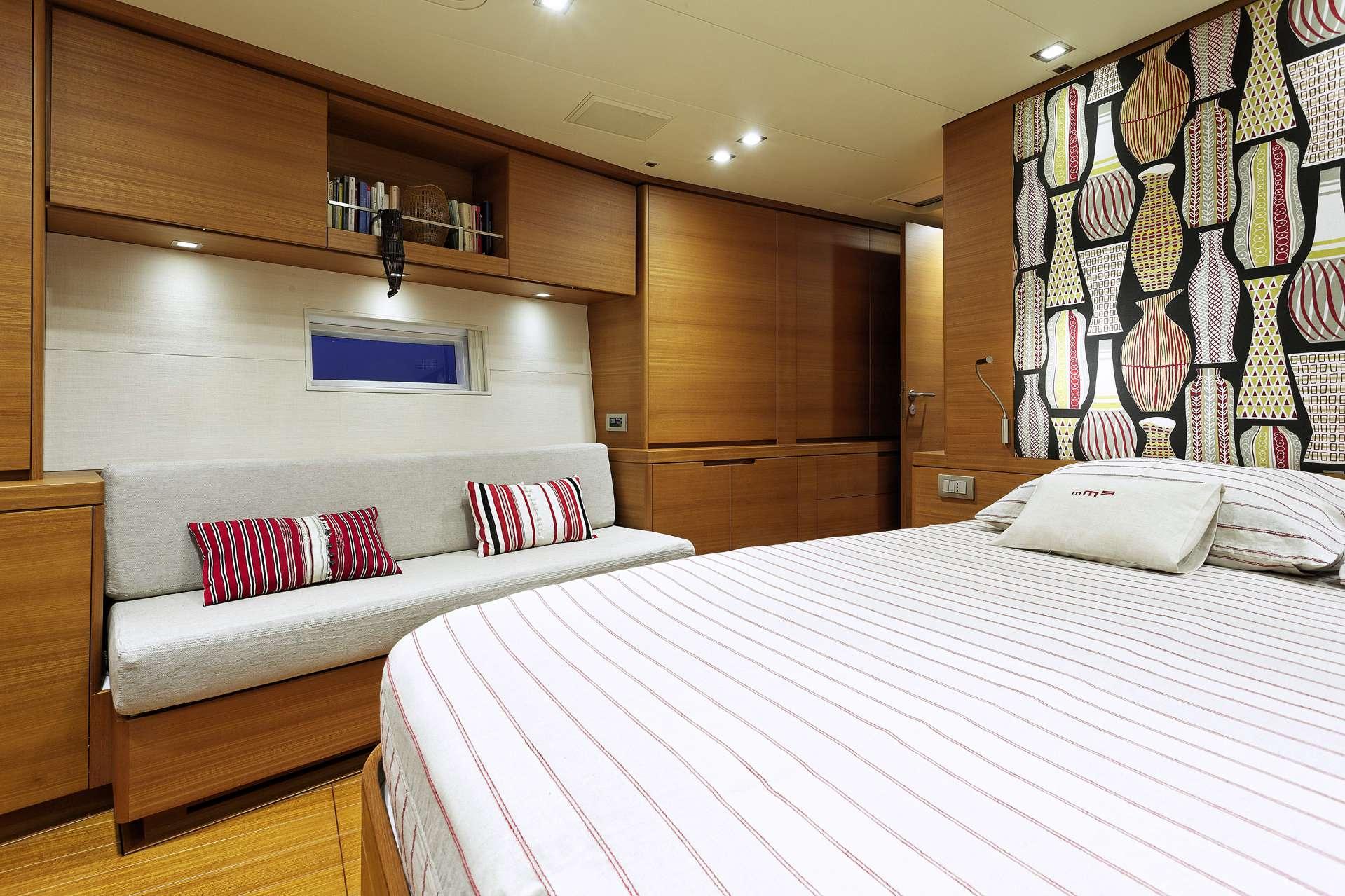 Sailing yacht MRS MARIETTA CUBE - Cabin 4
