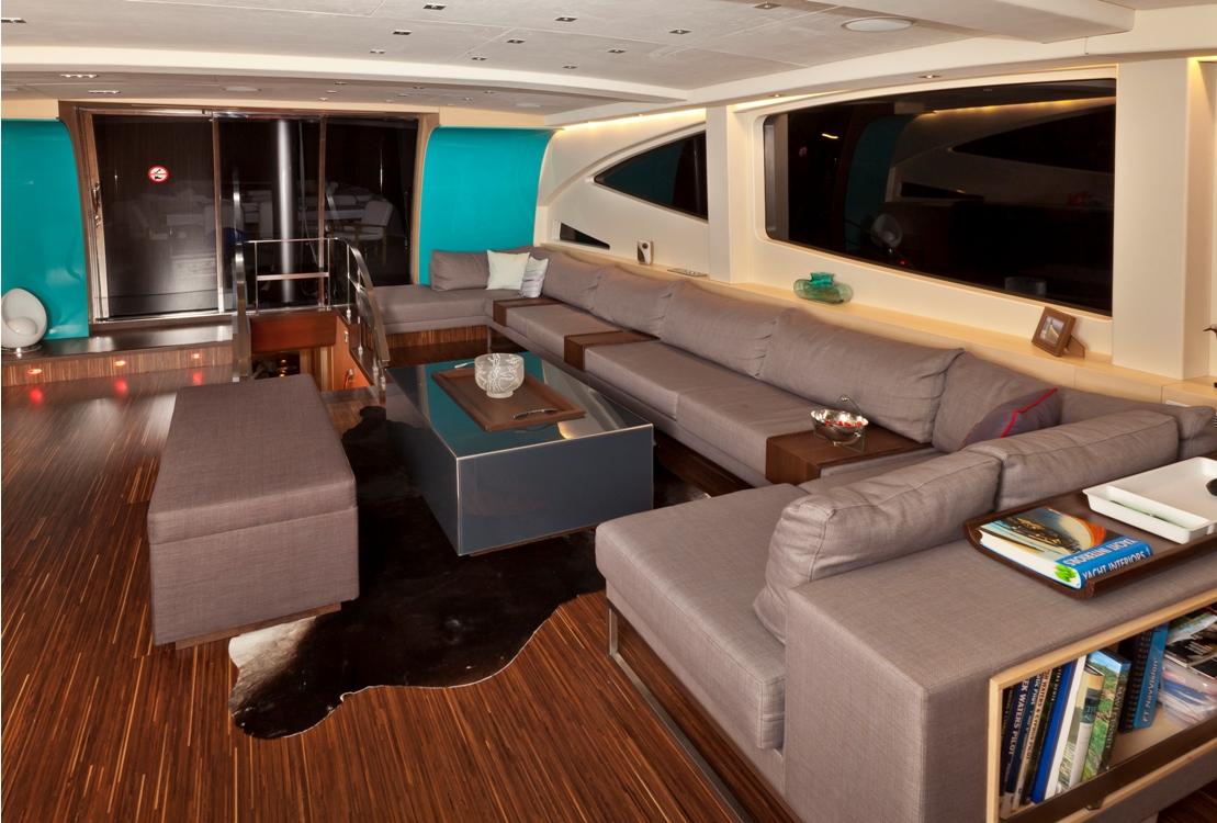Sailing yacht Merlin -  Main Salon