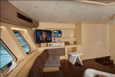 Sailing yacht Merlin -  Master Cabin 2