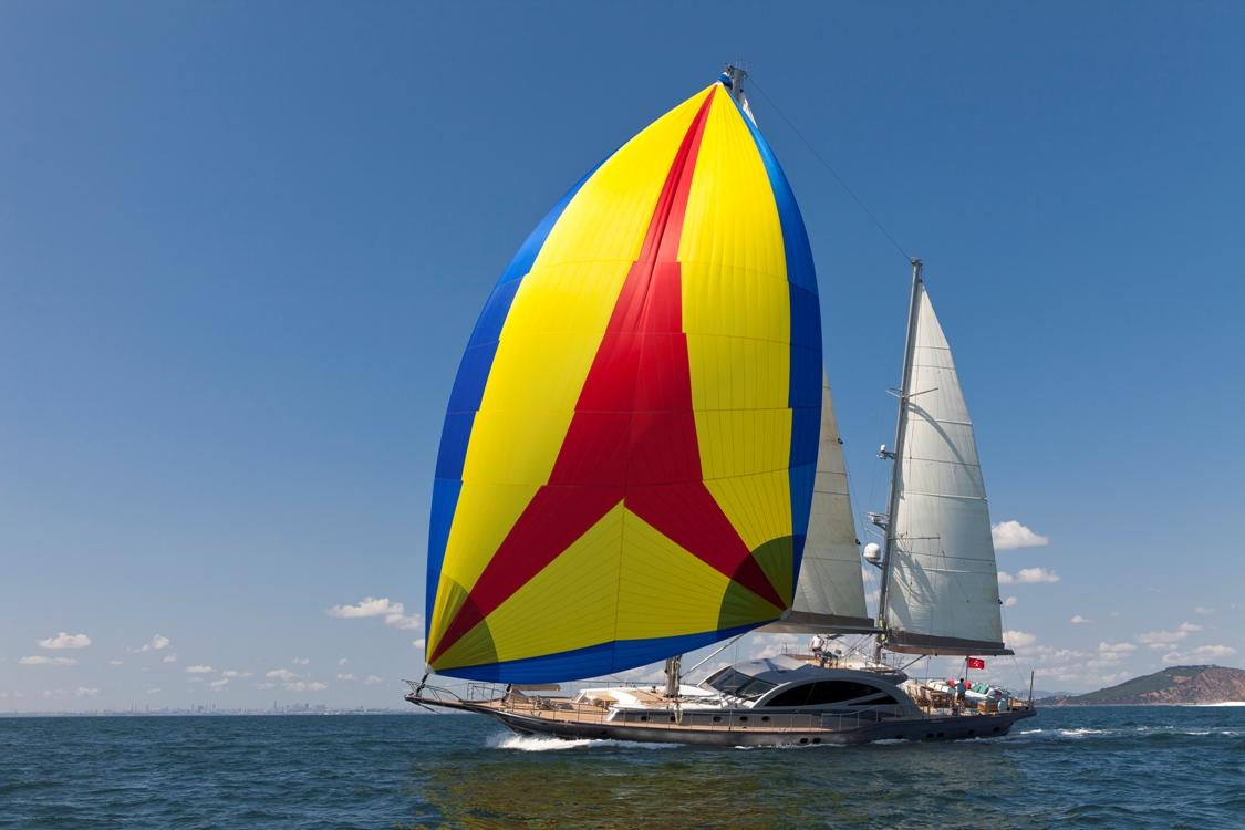 Sailing yacht Merlin -  Sailing