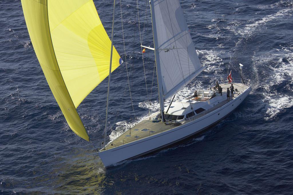 Sailing yacht Nephele -  Spinaker Sailing