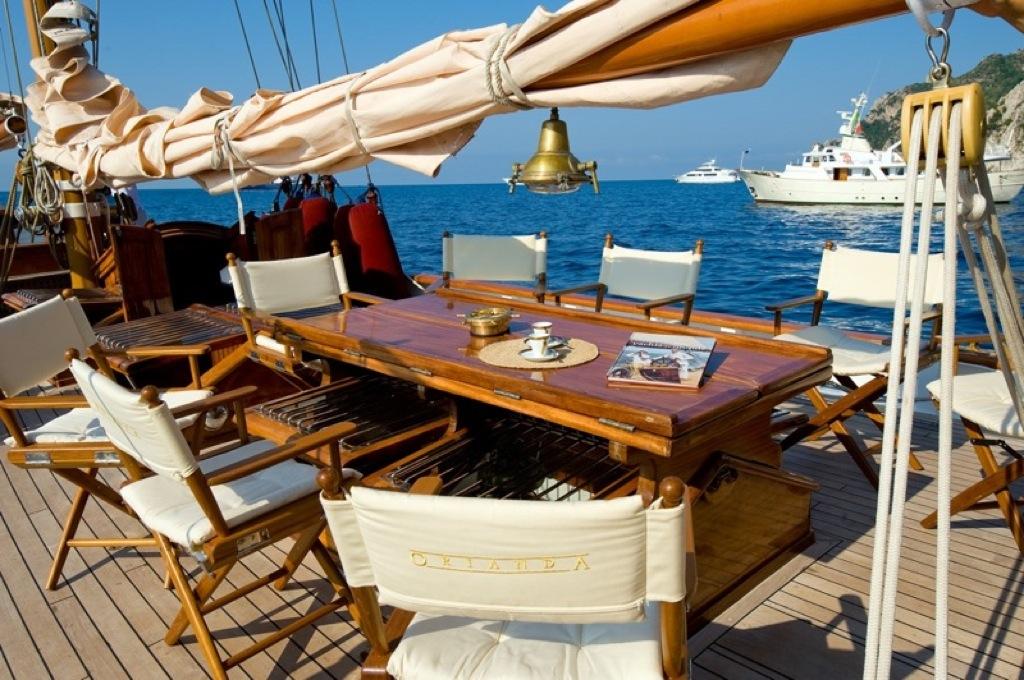 Sailing yacht Oriander -  Al Fresco Dining