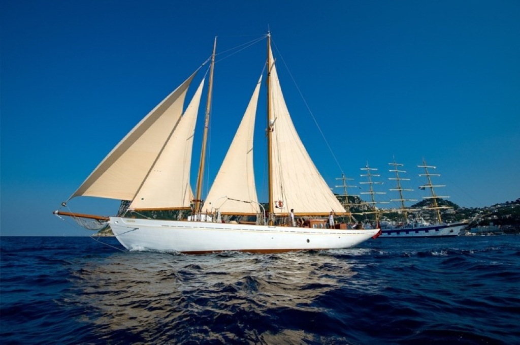 Sailing yacht Oriander - Sailing 2