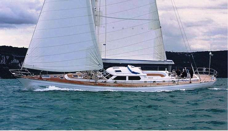 Sailing yacht PLUM -  Sailing
