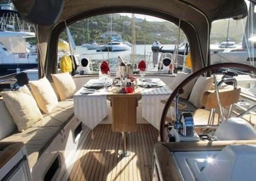 Sailing yacht POINT 02 -  Cockpit