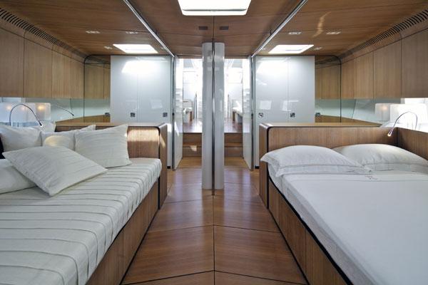 Sailing yacht POLYTROPON II -  Master Cabin