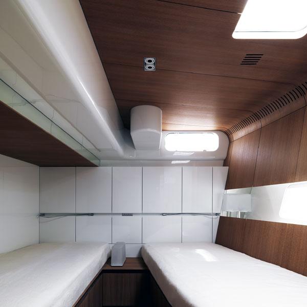 Sailing yacht POLYTROPON II -  Twin Cabin 2