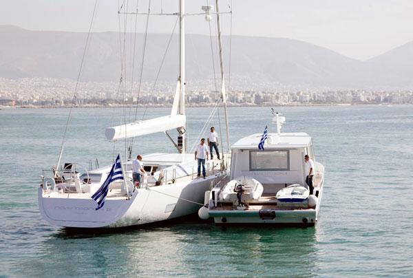 Sailing yacht POLYTROPON II -  with MY POLYTORFON