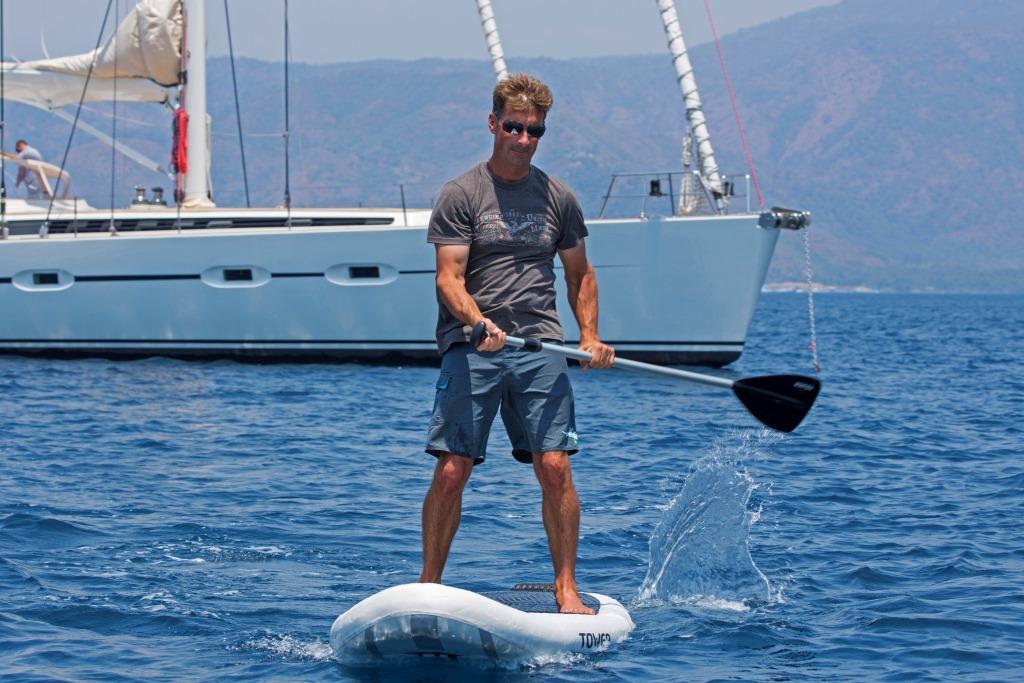 Sailing yacht SAVARONA - SUP