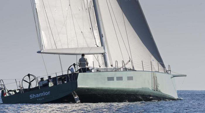 Sailing yacht SHAMLOR -  Sailing 2