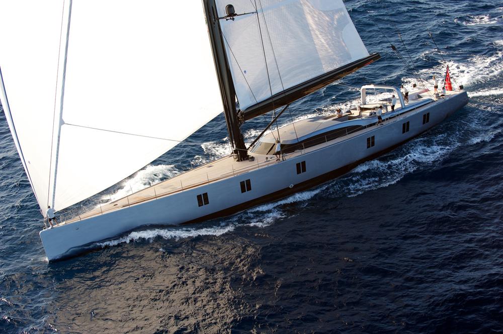 Sailing yacht Sarissa -  Main