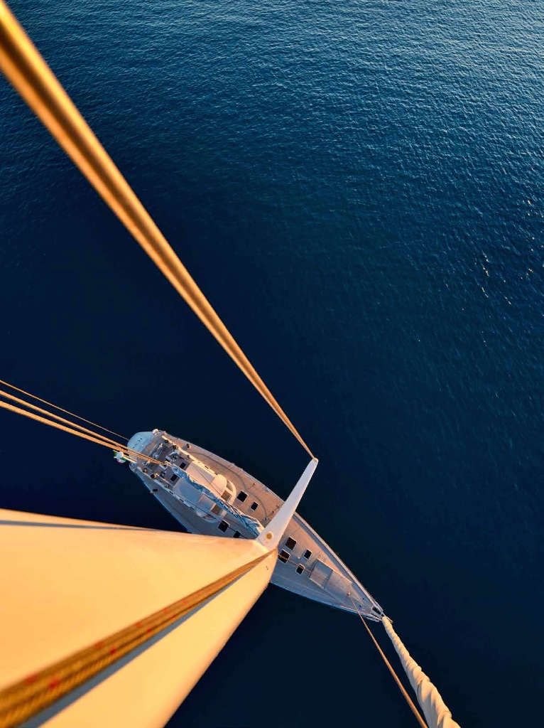Sailing yacht TESS - From Above